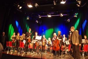 Unser Orchester beim Adventskonzert 2015